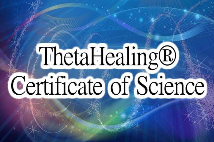 ThetaHealing® Certificate of Science image - The Flow of Healing.com