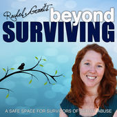 Trauma Healing icon for Rachel Grant's podcast, Beyond Surviving - The Flow of Healing.com
