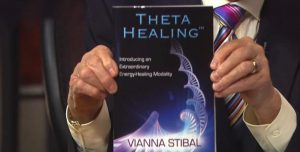 Theta Healing video poster of book by Vianna Stibal - The Flow of Healing.com