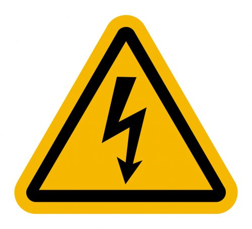 drama triangle warning icon